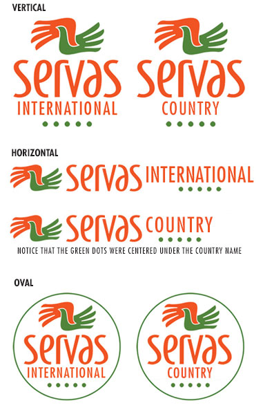 Servas International Logo - Design Guide